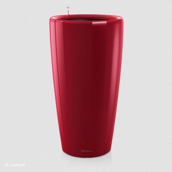 Lechuza Pflanzgefäß Rondo 40 scarlet rot hochglanz 15759