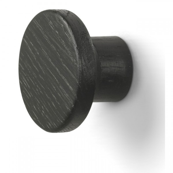 Haken magnetisch Knap schwarz S1836203