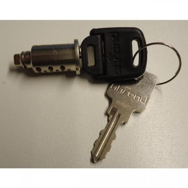Schließkern mit Schlüssel Nr.14491IG