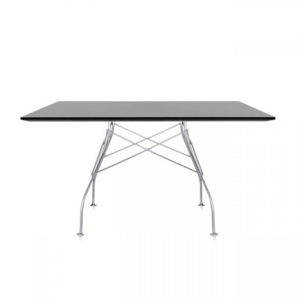 Kartell Tisch Glossy schwarz 45603P