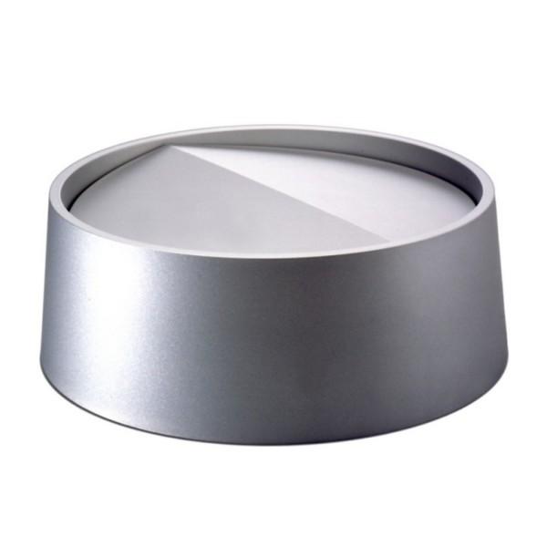 Rexite Ring mit Schwingdeckel aluminium für Papierkorb Status 21.01.AN