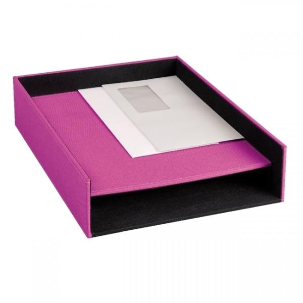 Ablagekasten mit 2 Fächer Vitreo Pink SE-0571
