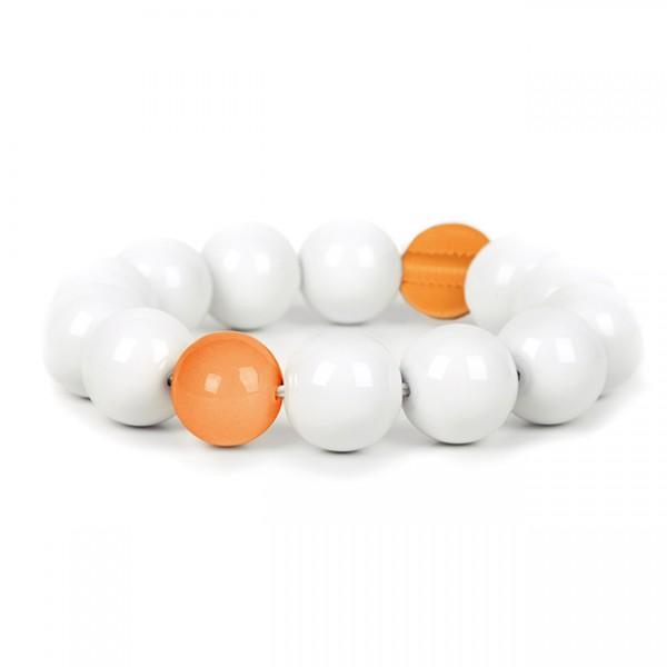 Untersetzer Perle colour small orange SL005.5o