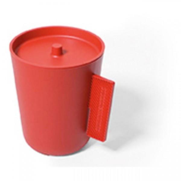 Abfalleimer Einsatz Bin rot SL17Er