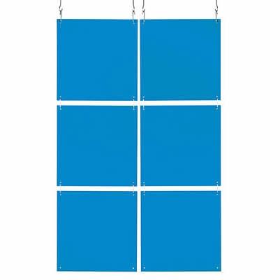 Raumteiler Frame transp. blau 1101537_1