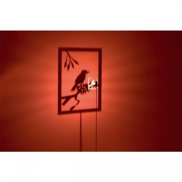 Motiv 1 Bird 476 J/M zur Shining Image Wandleuchte