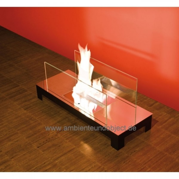 Kamin Floor Flame Edelstahl hochglanz 537b