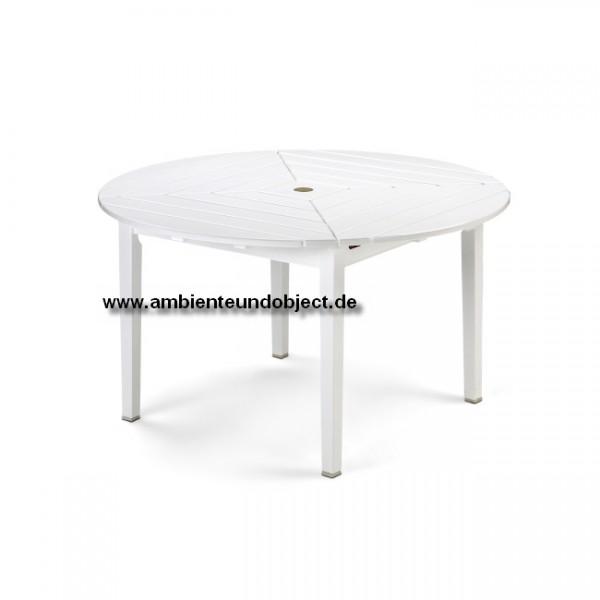 Tisch Drachmann rund 126 weiß S1082005