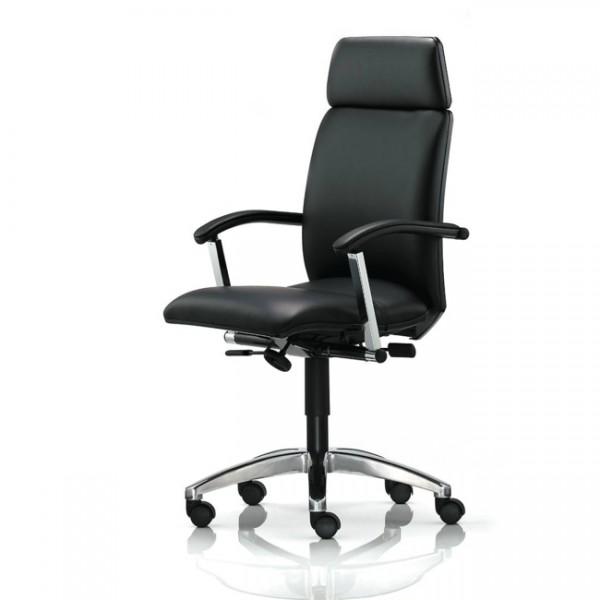 Bürodrehstuhl mit Armlehnen T-TEC31-A-D1-S