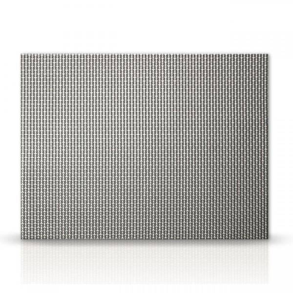 Tischset Mauritius silber-schwarz TX03
