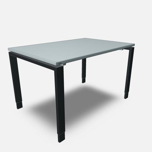 Assmann Schreibtisch Solos 120x80cm konfigurierbar