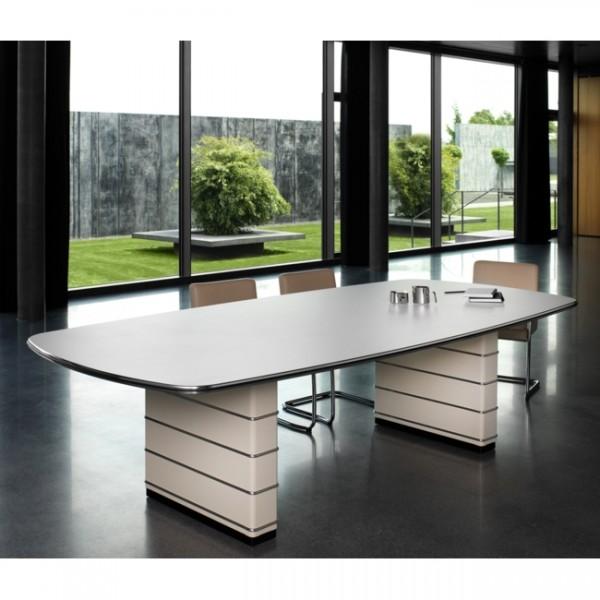 Konferenztisch ohne Zierleisten Classic Line 200x130cm TB121-4