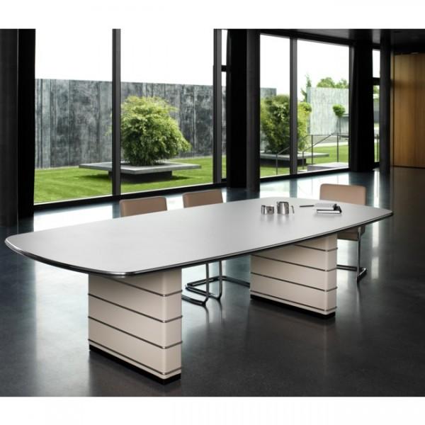 Konferenztisch mit Zierleisten Classic Line 200x100 cm TB126-1