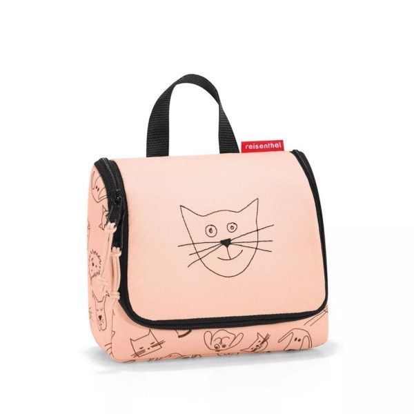 reisenthel® Toiletbag S kids cats and dogs rose IO3064