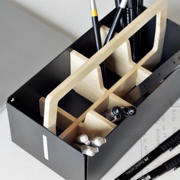 Toolbox Graphit Schreibtisch-Organizer toolbox-g