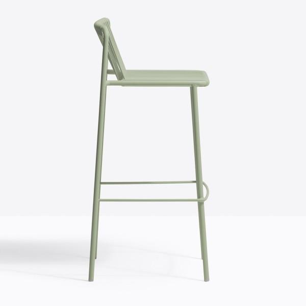 Pedrali Tribeca Terrassen-Barstuhl 3668 Sitzhöhe 77,5 cm