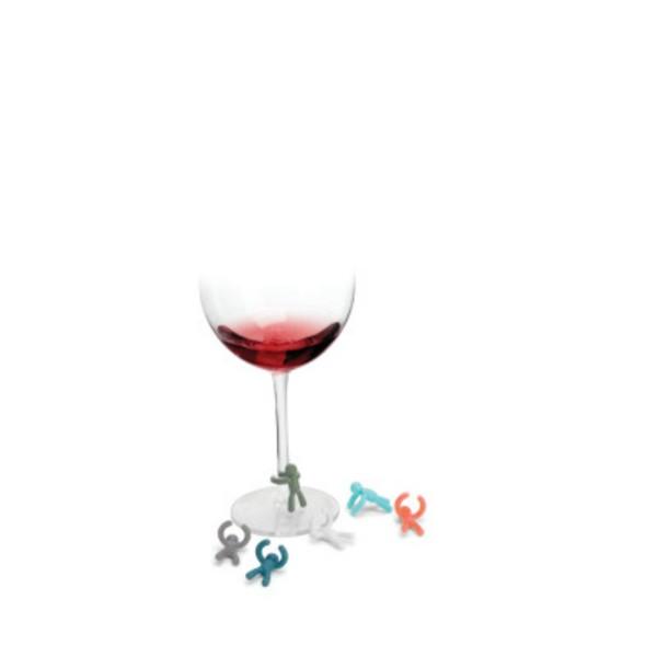 Umbra Flaschen - und Glasmarker 7er-Set Buddy 480320-002