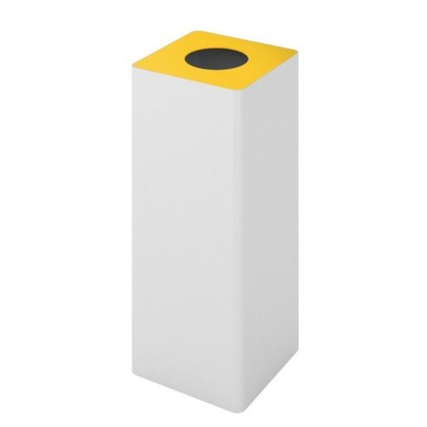 Rexite Behälter Unix 100 weiß / Kreisloch gelb 1301.PC.01