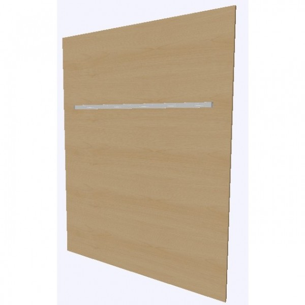 Assmann Stellwand aus Holz mit Reling Viteco konfigurierbar