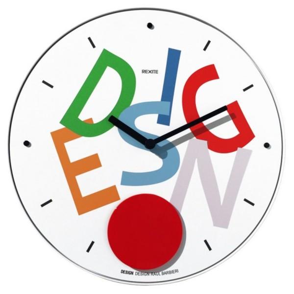 Rexite Wand Pendeluhr Appuntamento Design 988.00.11