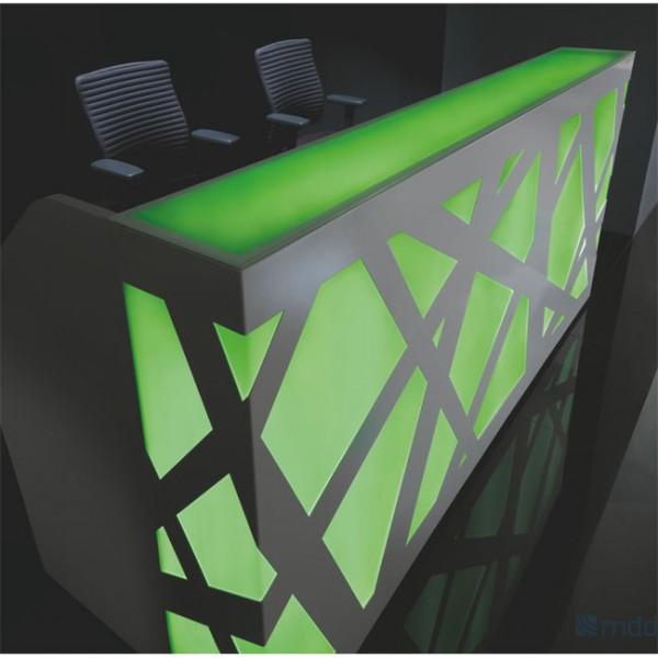Empfangstheke LED Zigzag LZ034