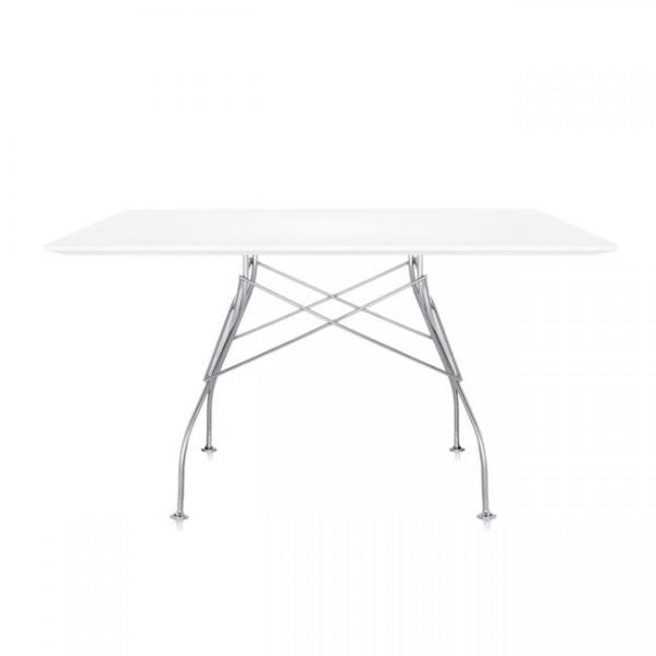 Kartell Tisch Glossy zinkweiß 45702M