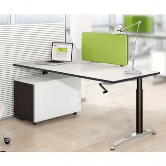 schreibtisch canvaro 160x80cm konfigurierbar im online kaufen. Black Bedroom Furniture Sets. Home Design Ideas