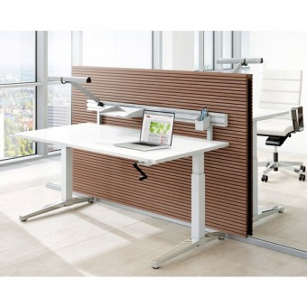 Assmann Schreibtisch Canvaro 80x80cm Konfigurierbar Im Aoshopde