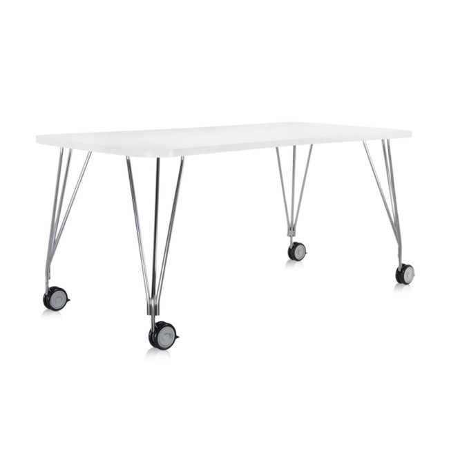 schreibtisch auf rollen 190cm max zinkwei 45122m im online kaufen. Black Bedroom Furniture Sets. Home Design Ideas