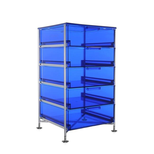 container auf rollen mobil blau 2034l7 im online kaufen. Black Bedroom Furniture Sets. Home Design Ideas