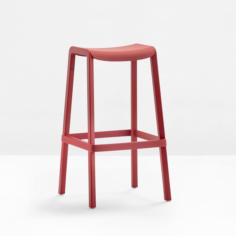 pedrali dome barhocker sitzh he 65 cm im. Black Bedroom Furniture Sets. Home Design Ideas