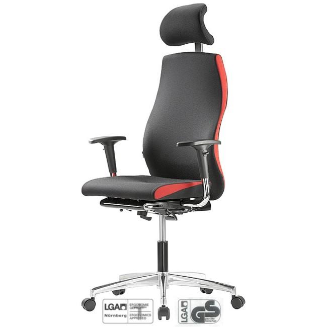 Bürodrehstuhl Solution GT 8 mit Nackenstütze